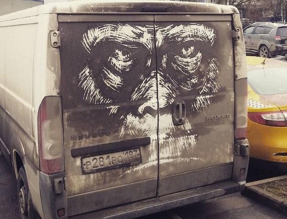 Ζωγραφική πάνω σε αυτοκίνητα